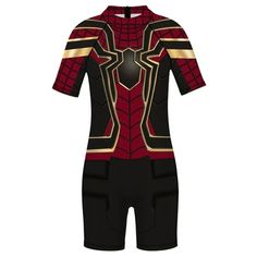 New Arrivals – Fansholiday.co.uk One Piece Swimwear, One Piece Swimsuit, Male Cosplay, Wetsuit, Bathing Suits, Spiderman, Bodysuit, Swimsuits, Beach