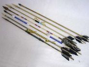 Native American Navajo Handmade Arrows - Our arrows are all made by Native American Navajo Indians here in the southwestern United States. Each style is unique. From the plain to the double or fully beaded. Each arrow is handcrafted, tips are handwrapped onto the end of the arrow. From $42.95 set of 5.