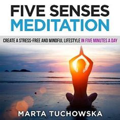 "Another must-listen from my #AudibleApp: ""Five Senses Meditation: Create a Stress-Free and Mindful Lifestyle in Five Minutes a Day"" by Marta Tuchowska, narrated by Kim Holmes."