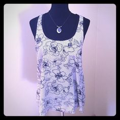 Eight Sixty Floral and Polka Dot Silk Top size M Eight Sixty Floral and Polka Dot Silk Top size M retail $148 EUC worn once!!  100% Silk    Contrast Trim 100% Cotton Eight Sixty Tops Blouses
