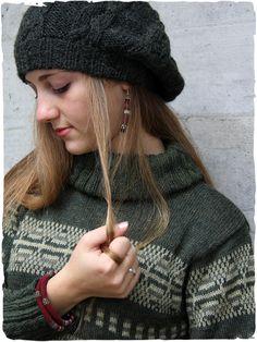 maglione in alpaca a collo alto Yvonne 1e86cfa24440