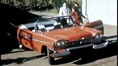 """Driver Ed in a 1958 Plymouth Belvedere: """"Driving Tips"""" (Series Two) ~ 1958; """"Christine"""" #Car https://www.youtube.com/watch?v=RdqhsKEWLxk #Plymouth #DriverEd"""