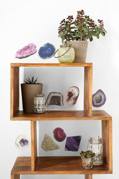 Geode Wall Decal - Set Of 9 #urbanoutfitters