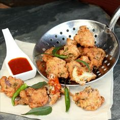 A Cook's Memoir - Inspired recipes from our travels to many exotic lands: Cauliflower Pakora