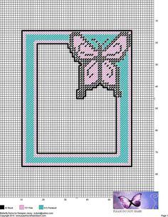 Canvas Picture Frames, Canvas Frame, Plastic Canvas Crafts, Plastic Canvas Patterns, Crochet Towel Topper, Pc Photo, Heart Frame, Perler Patterns, Bead Art