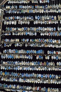 Boats in the Old Port of Marseille, Bouches-du-Rhône, France by Yann Arthus-Bertrand Wonders Of The World, In This World, National Geographic, Arthus Bertrand, Ville France, Old Port, Provence France, Birds Eye View, French Riviera