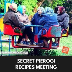 secret pierogi recipe meeting