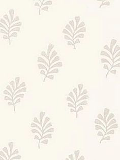 DecoratorsBest - Detail1 - Sch 5005230 - Bakara Leaf - Oyster - Wallpaper - DecoratorsBest