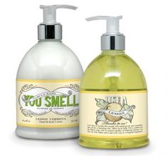 Lotion and Handsoap. Vintage Me Oh My