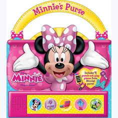 Minnie Mouse Little Handle Book