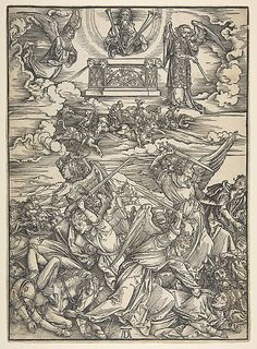 Albrecht Durer - Four Avenging Angels, from the Apocalypse series
