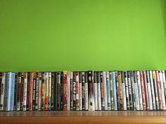 Questa è una parte della mia collezione di dvd !