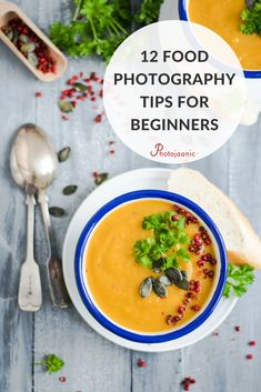 Food photography tips for beginners, including: Lighting tips, food styling tricks, and food photography background. Learn the food photography guide from the experts!