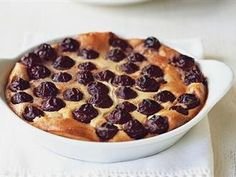 Cherry Clafoutis - The Classic French dessert | Online bee