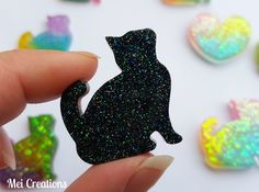 Gatto in resina. Resin cat