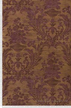 Papier Peint Empire violet - Prestige 2 de Lutèce  | Réf. LTC-CS35602