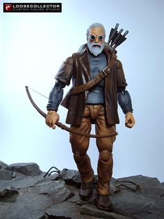 Old Man Hawkeye (Marvel Legends) Custom Action Figure