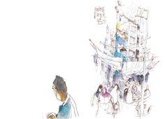 Sketch (2011) by Felix Scheinberger Illustration Sketches, Drawing Sketches, Sketching, Drawings, Illustrator, Sketch A Day, Urban Sketchers, Art Sketchbook, Wildlife