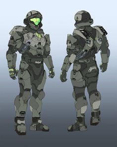 Halo 5: Guardians Concept Art by Daniel Chavez | Concept Art World