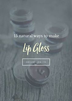 15 DIY Lip Gloss Recipes Organic Skin Care, Natural Skin Care, Henna Finger Tattoo, Diy Lip Gloss, Homemade Beauty Products, Diy Products, Diy Lip Balm, Clean Beauty, Beauty Tips