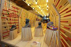 Arquitectura efímera en madera. Instalación para Camper en París|Espacios en madera