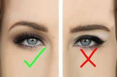 Какой макияж подойдет девушкам с маленькими глазами и нависшим веком