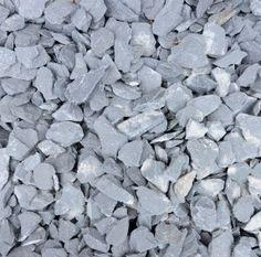 40mm Blue Grey Slate Chippings