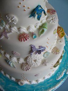 Bolo casamento fundo do mar... | Flickr: Intercambio de fotos