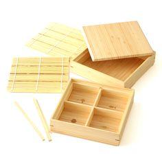 SOBA+JU 12600yen おせち料理以外にも盛り付け自在な、竹集成材のお重