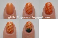 Glitterfinger Lexa — Tutorial | Fruits