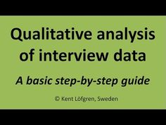 Qualitative analysis of interview data: A step-by-step guide for coding/indexing Narrative Writing, Writing Prompts, Thematic Analysis, Brain Teasers With Answers, Holiday Writing, Letter Of Intent, Research Methods, Upper Elementary, Writing Activities