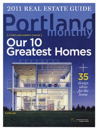 April 2011: Our 10 Greatest Homes
