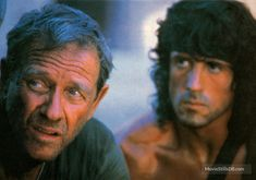 A gallery of Rambo III publicity stills and other photos. Featuring Sylvester Stallone, Richard Crenna, David Morrell, Peter Macdonald and others. Rambo 3, Hero Movie, Rocky Balboa, Sylvester Stallone, Celebs, Celebrities, The Man, Tv Shows, Movies