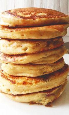 Perusresepti: Pulleat pannarit | Maku Sweet Desserts, Sweet Recipes, Delicious Desserts, I Love Food, Good Food, Yummy Food, Baking Recipes, Dessert Recipes, Yummy Pancake Recipe