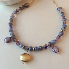 Hey, I found this really awesome Etsy listing at https://www.etsy.com/listing/209666274/pink-blue-necklace-bib-necklace-short