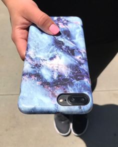 Monday Blues with the Geode Case for iPhone 7 & iPhone 7 Plus from Elemental Cases
