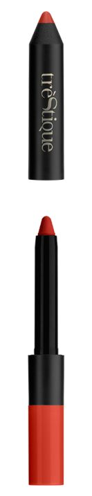 Lip crayon product formula chile red