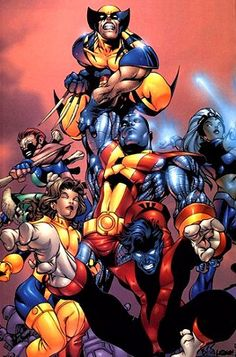 2_X-Men Storm, Rogue, Nightcrawler, Colossus, Wolverine, Mar by Marcos Alexandro, via Flickr