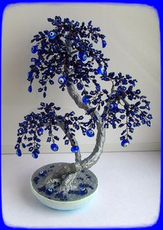 blossom Home decoration Bonsai trees Sakura bonsai beads tree al . blossom Home decoration Bonsai trees Sakura bonsai beads tree al . Colorful round beads earrings Pretty for summer ! Our Lady of Lourdes Catholic Rosary Aurora Borealis Faceted Beaded Crafts, Beaded Ornaments, Wire Crafts, Tree Of Life Art, Tree Art, Metal Flowers, Beaded Flowers, Jewelry Tree, Wire Jewelry
