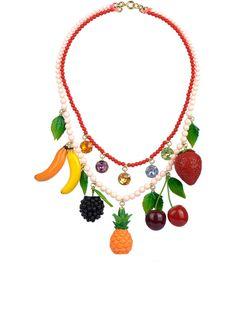 Funny Fruits Necklace - Les Néréides