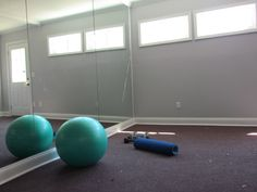 From Garage to New Work Out Room CenterBeam Construction Jacksonville, Florida www.Centerbeamconstruction.com