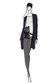 Elie Tahari for DesigNation collection sketch