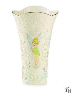 lenox vases   Lenox Disney - Tinkerbell - Tinker Bell's Enchanted Garden Vase