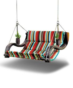 Take a look at this Stripe Urban Balance Expanse Bench on zulily today!