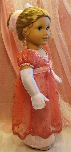 1812 Regency Ballgown for Caroline Abbott by Petrassewingbox   eBay sold for $85.56 on 1/12/13.