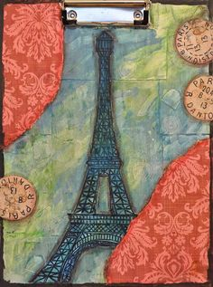 Looking for paper crafts project inspiration? Check out Paris on a clipboard by member Craft Walli.