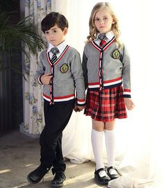 Dress uniforms fancy school