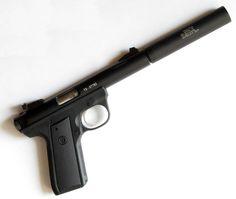 Ruger MKIII .22 Cal Long Rifle, Gemtech Suppressor