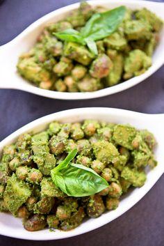 Pesto Potato Chickpea Salad #vegan #glutenfree | Keepin' It Kind .. maybe?