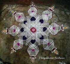 Rangoli and Art Works: Margazhi 2015 - Day 14 kolam